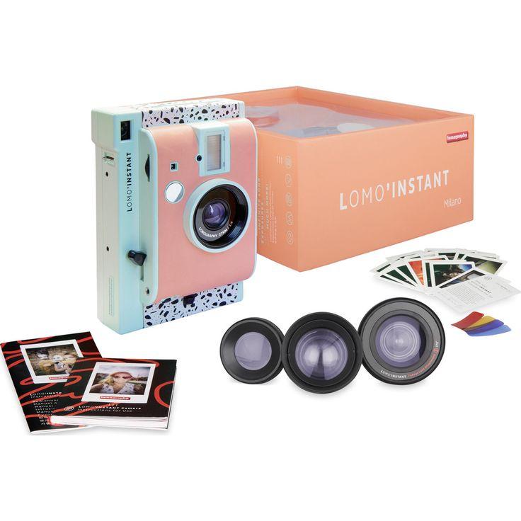 Lomography Lomo'Instant Camera and Lenses | Milano