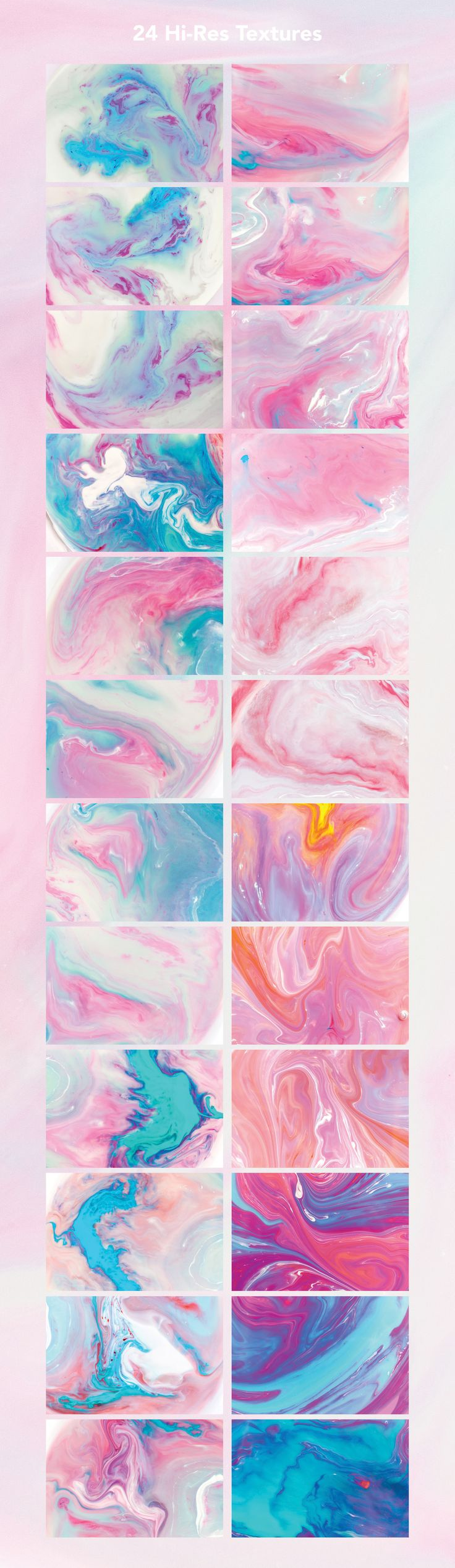 Modern Marble Ink Textures by Fox & Bear on @creativemarket