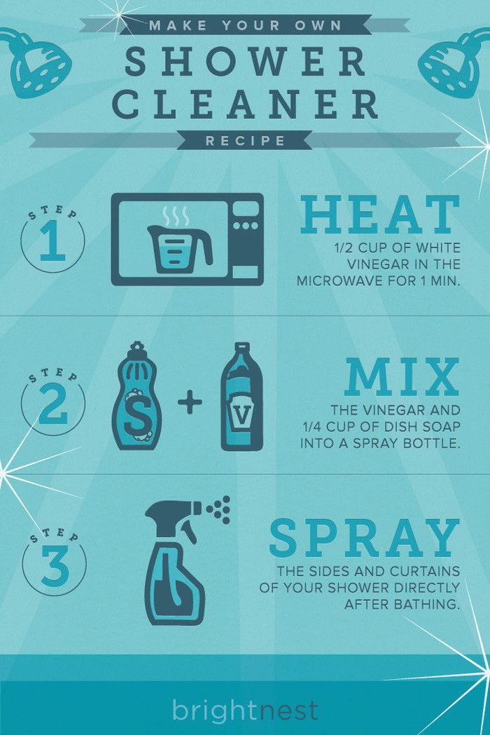 #DIY Shower Cleaner in 3 Steps!