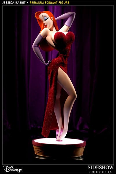 Sideshow Collectibles - Jessica Rabbit Premium Format Figure  My burning heart's desire <3