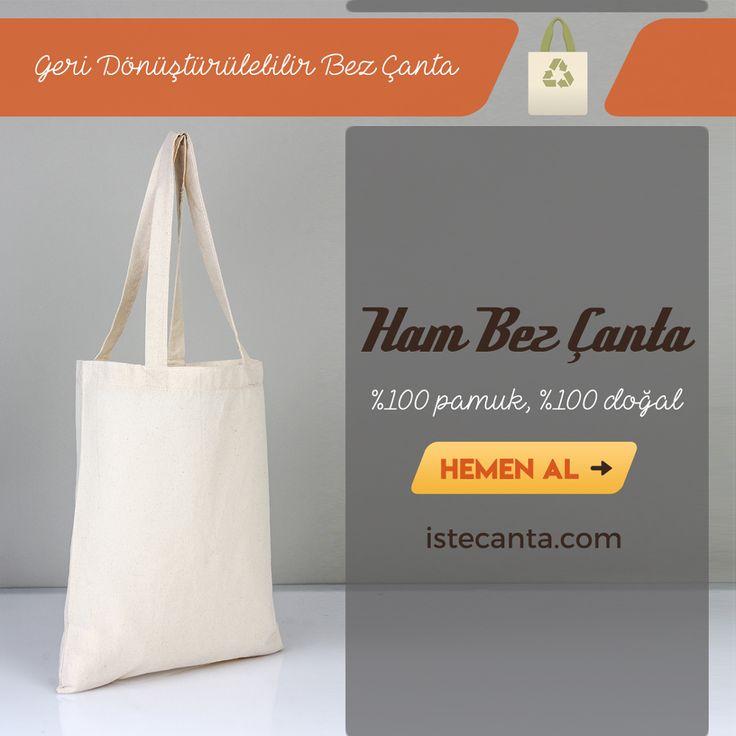 Ham bez çanta geri dönüştürülebilir, doğal bir üründür. Hemen sipariş vermek için istecanta.com adresini ziyaret edebilirsiniz. #bezcanta #hambezcanta #toptan #hambez #totebag #cottontotebag #clothbag #wholesale #cantamodelleri #dogal #pamuk #natural #cotton