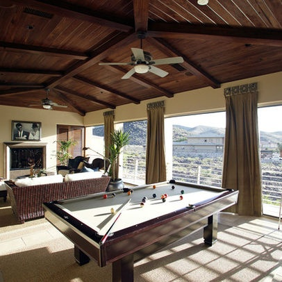 large family room pool table media room design pictures remodel decor and ideas