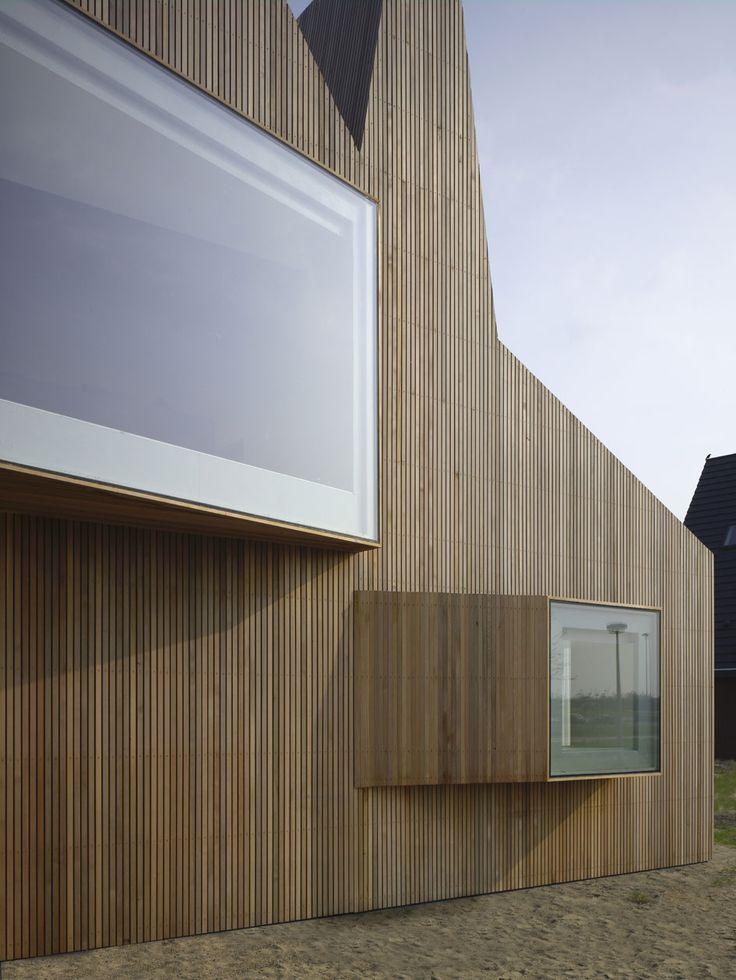 madera Arquitectura ventana asimétrico minimalista