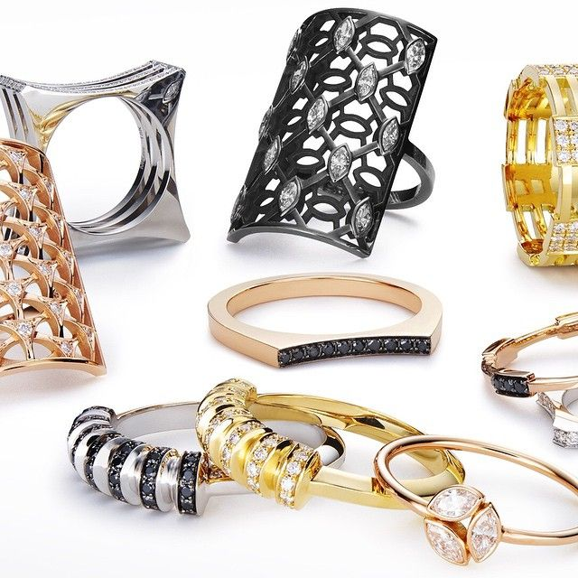 Which is your favorite #MelissaKayeJewelry #ring in #18k gold with #diamonds #jewelry #finejewelry #fashion #style #MKJHoliday