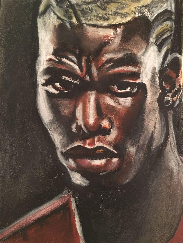 Portrait I did of Paul Pogba