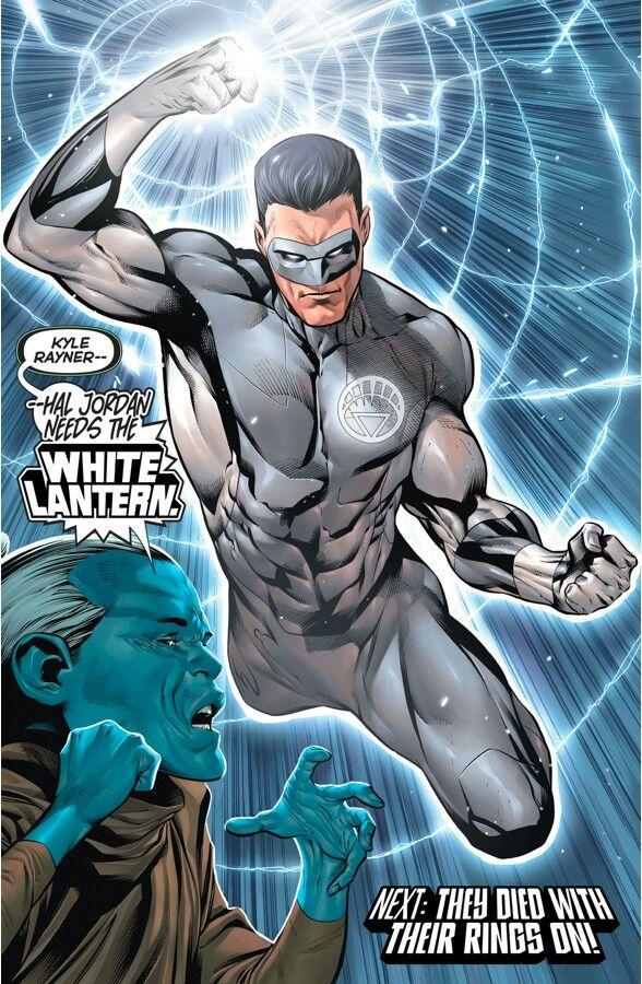 The return of Kyle Rayner! Hal Jordan and the Green lantern corps#9