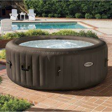 Spa gonflable rond Purespa INTEX, 4 places assises