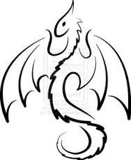 Image result for simple dragon tattoo search:www.tumblr.com -girl