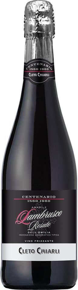 El #Vino #RoséCletoChiarli es sinónimo de #Elegancia y #Frescura, ofrece aromas de #FrutosRojos maduros bastante amables. Pruébalo en #VinosNobles. Imagen vía: http://goo.gl/myRozJ