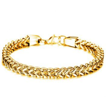 SHARE & Get it FREE | Fashion Retro Solid Color Link Chain Bracelet For MenFor Fashion Lovers only:80,000+ Items·FREE SHIPPING Join Dresslily: Get YOUR $50 NOW!
