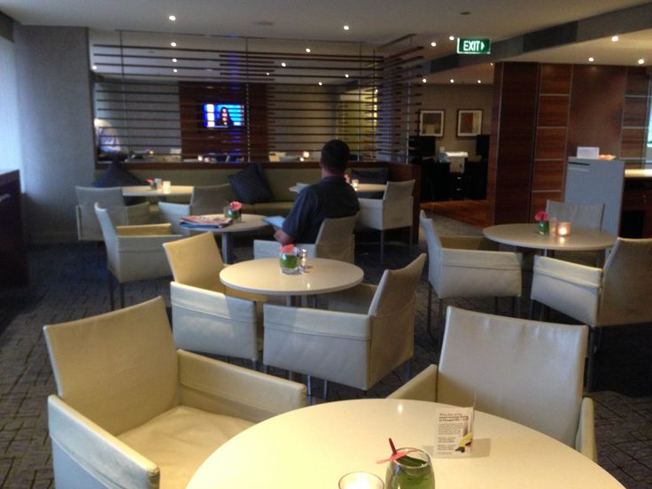 Executive Lounge at the Hilton Brisbane Hotel