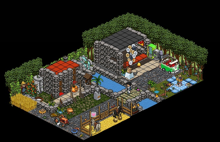 Cool Habbo Rooms Ideas