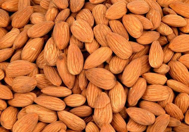 Order quality Almonds (Badam Giri) online at best price in India. Buy Now from online dry fruit store, KiranaPlace.  Almonds contain lots of healthy fats, fiber, protein, magnesium and vitamin E. The health benefits of almonds include lower blood sugar levels, reduced blood pressure and lower cholesterol levels. They can also reduce hunger and promote weight loss.