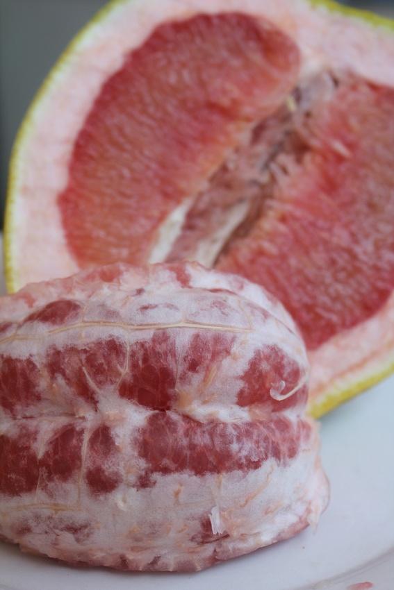 pomelo fruit fruit skewers