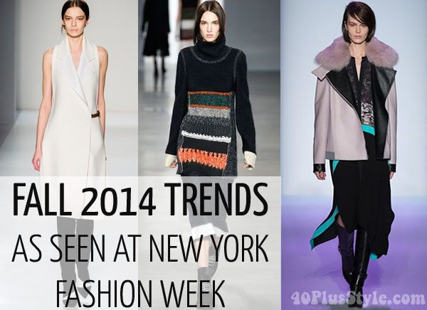 urbAN CHIC TRENDS FALL 2014 | 12 fashion trends for fall / winter 2014 | 40PlusStyle.com