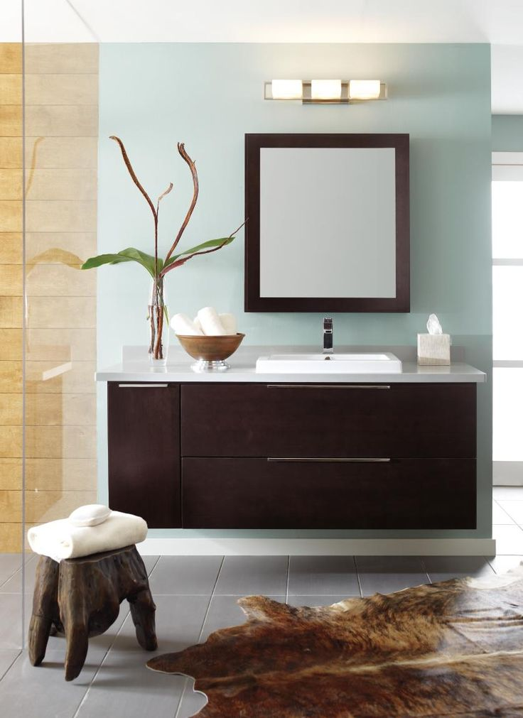 bath mirror pullout and other crafted masterbrand products displayed at kbis2015 were