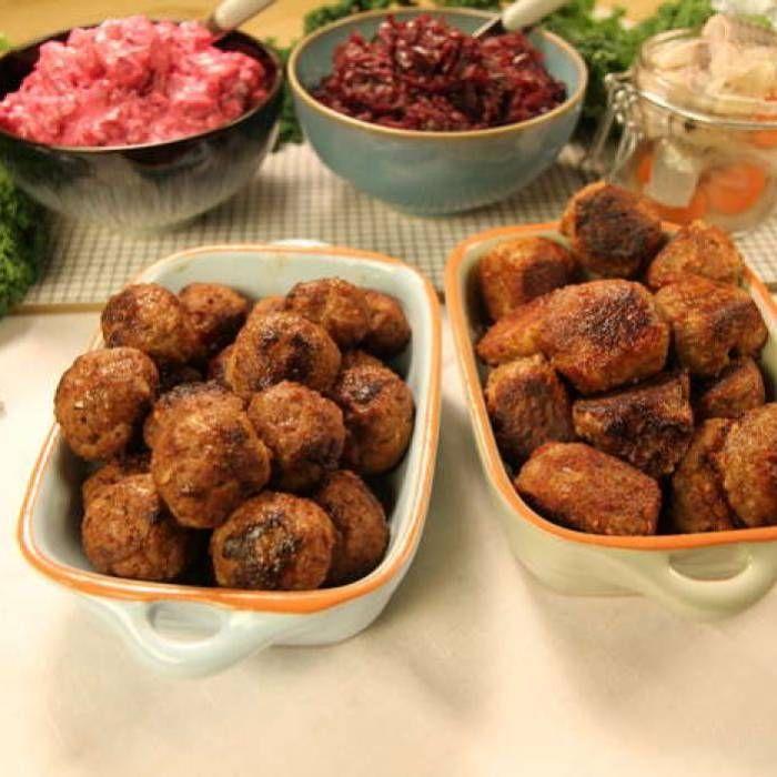 Köttbullar till julbordet – vegetariska & asiatiska köttbullar