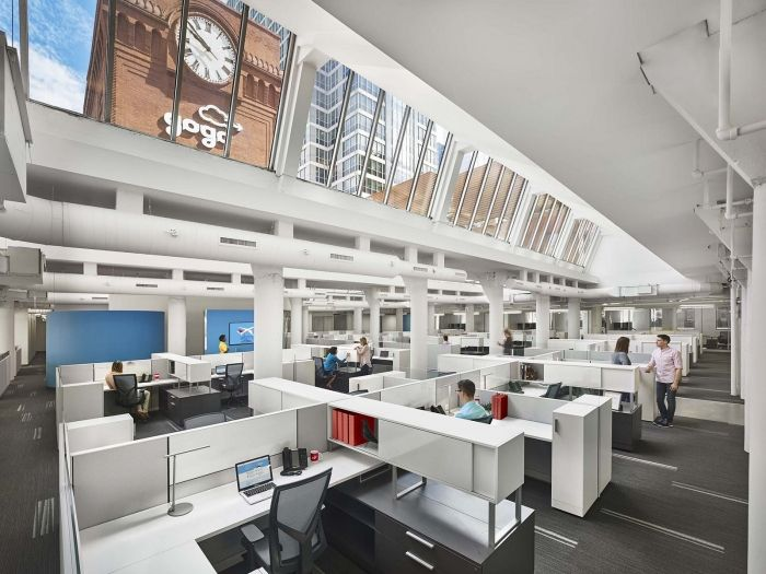 Office Tour: Gogo Offices U2013 Chicago. Open OfficeOffice SpacesBasement ...