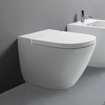 Globo STOCKHOLM floor-standing, washdown toilet L: 58 W: 37 cm white