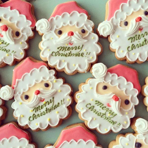 サンタさん アイシングクッキー