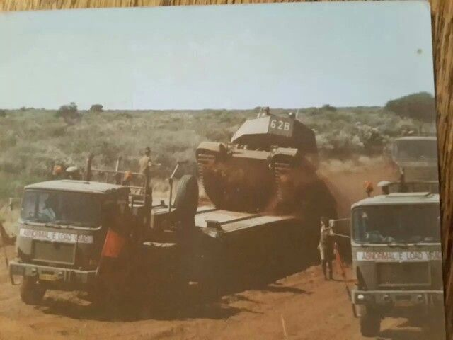 Loading an Olifant