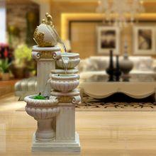 Fashion rybníka ovládanie fontána vodné prvky feng shui doma kolo dekorácie remeslá dekorácie (Čína (pevninská časť))