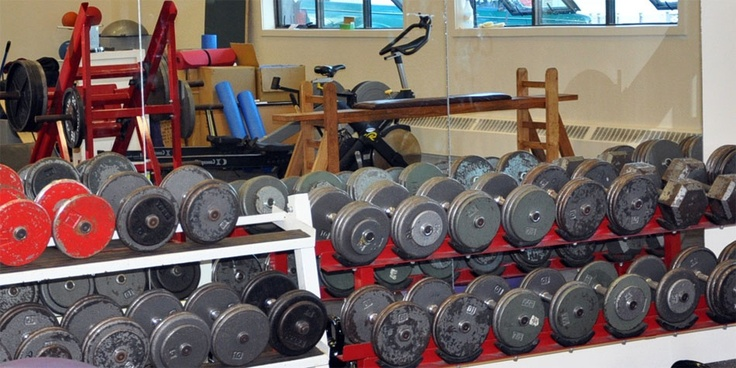 The high performance training centre for Brentwood's varsity athletes