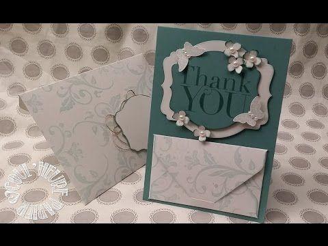 """Vidéo-Tuto """"Carte aux Enveloppes"""" par Coul'Heure Papier - YouTube"""