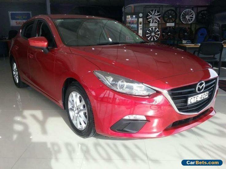 2014 Mazda 3 BM Maxx Red Manual 6sp M Hatchback #mazda #3 #forsale #australia