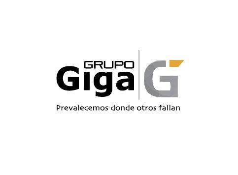 Diseño de marca para la compañía Grupo Giga. Constructora e Impermeabilizadora de Alto desempeño.   Sloga: Prevalecemos donde otros fallan.