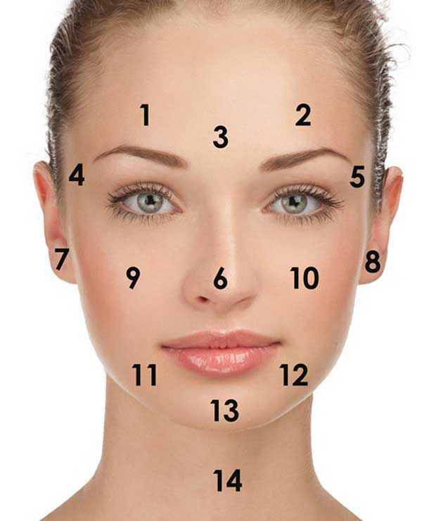 68 Best Facing Our Risk Of Cancer Images On Pinterest: 17 Best Ideas About Face Mapping On Pinterest