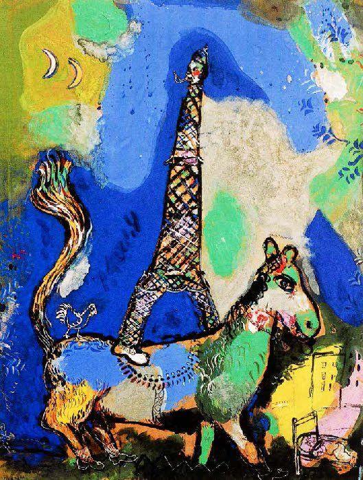 Marc Chagall 1887-1985 | Le Cirque, Paris 1967
