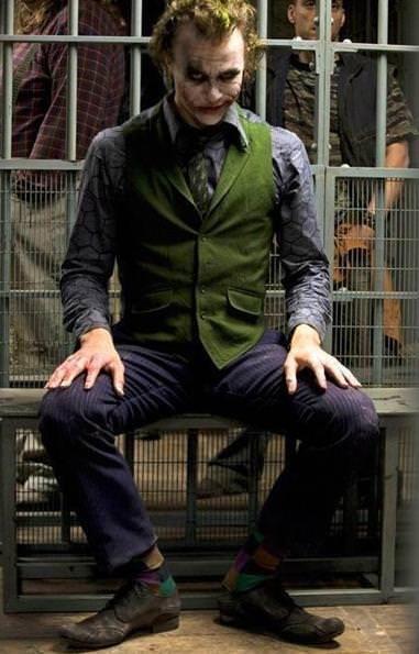 Disfraz de Joker para papás