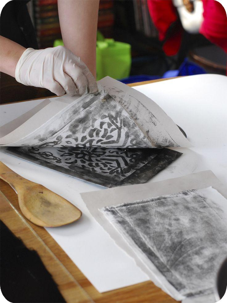 Kitchen, Lithography, Printmaking