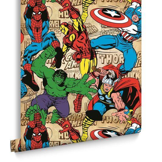 Marvel Comics Superheroes Wallpaper, , Large