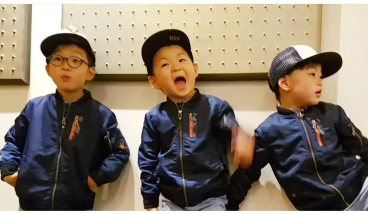 #IgSongilkook #Song's Cute Triplets