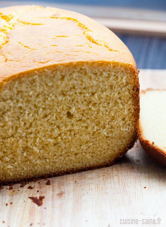 Brioche sans gluten ni lait à la MAP (machine à pain)
