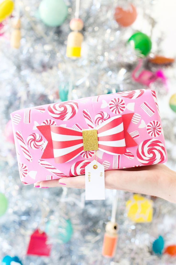 How We Re Decorating The Studio For Christmas Studio Diy Pink Christmas Gifts Holiday Gift Wrap Christmas Gift Wrapping