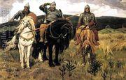 Epic Heroes  by Viktor Vasnetsov