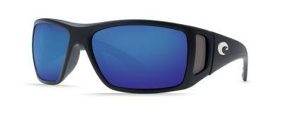 Costa Del Mar Bomba Sunglasses, Black, Blue Mirror 580Glass Lens