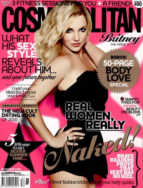 Cosmo Cover | December 2009 | Britney Spears