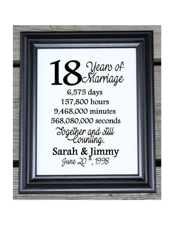 18th Wedding Anniversary Cotton Print 18th Wedding Gift 18 Years Together 18 Years Of Marriage 18th Anniversary Gift For Wife Her 11th Anniversary Gifts Wedding Anniversary Quotes 12th Wedding Anniversary