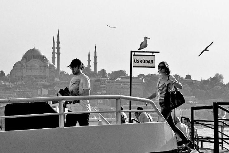 ✿ ❤ Uskudar iskelesi - Karakoy istanbul, Turkey