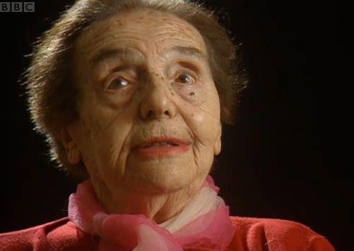 Alice Sommer Herz.  The oldest holocaust survivor