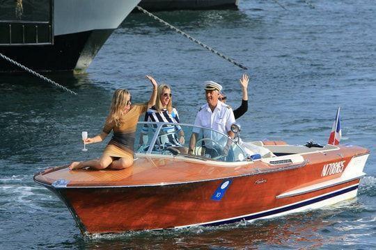 Élégance, day boat et canots automobiles au Cannes Yachting Festival 2016