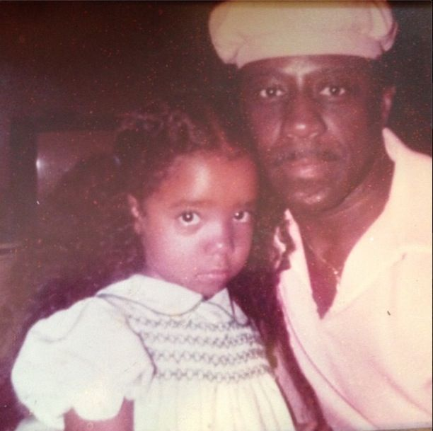 "Tameka ""Tiny"" Harris and her Pops (RIP)"