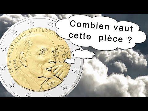 Valeur Pièce 2 Euro François Mitterrand Youtube La Monnaie