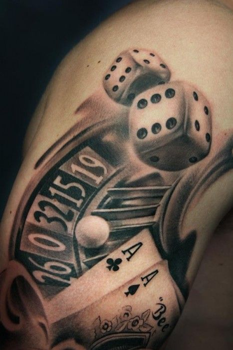 Casino Tattoos #casino #tattoos #casinotattoos