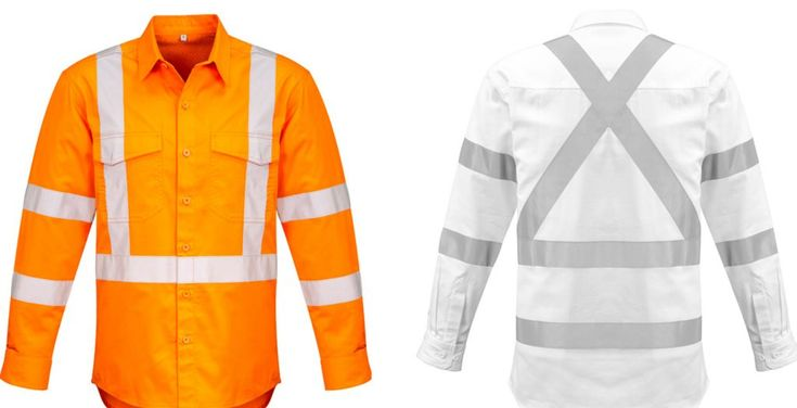 Hi Vis Workwear Clothing with Reflective 3M Tape