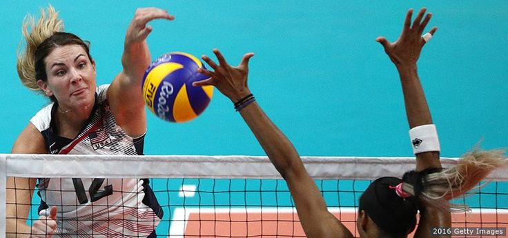 U.S. Women's Volleyball Team Sweeps Puerto Rico To Open Olympic Play